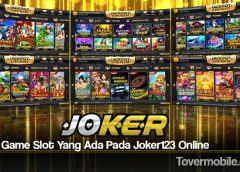 Jenis Game Slot Yang Ada Pada Joker123 Online