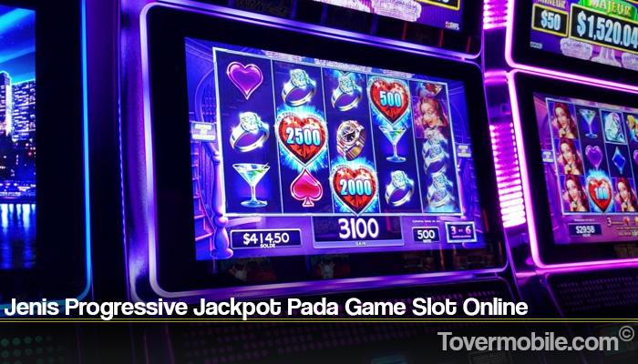Jenis Progressive Jackpot Pada Game Slot Online
